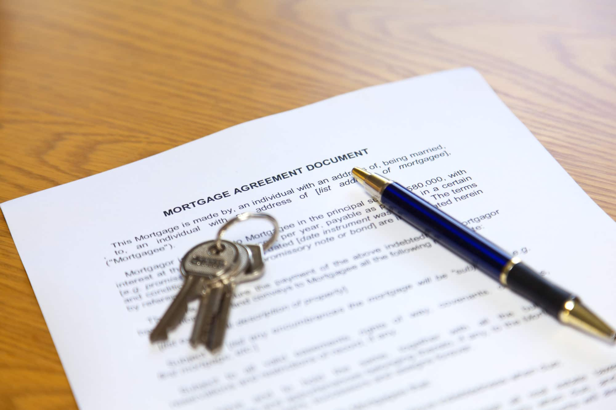 Loans secured by mortgages