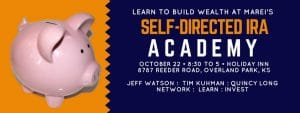Self-Directed IRA Investing Academy