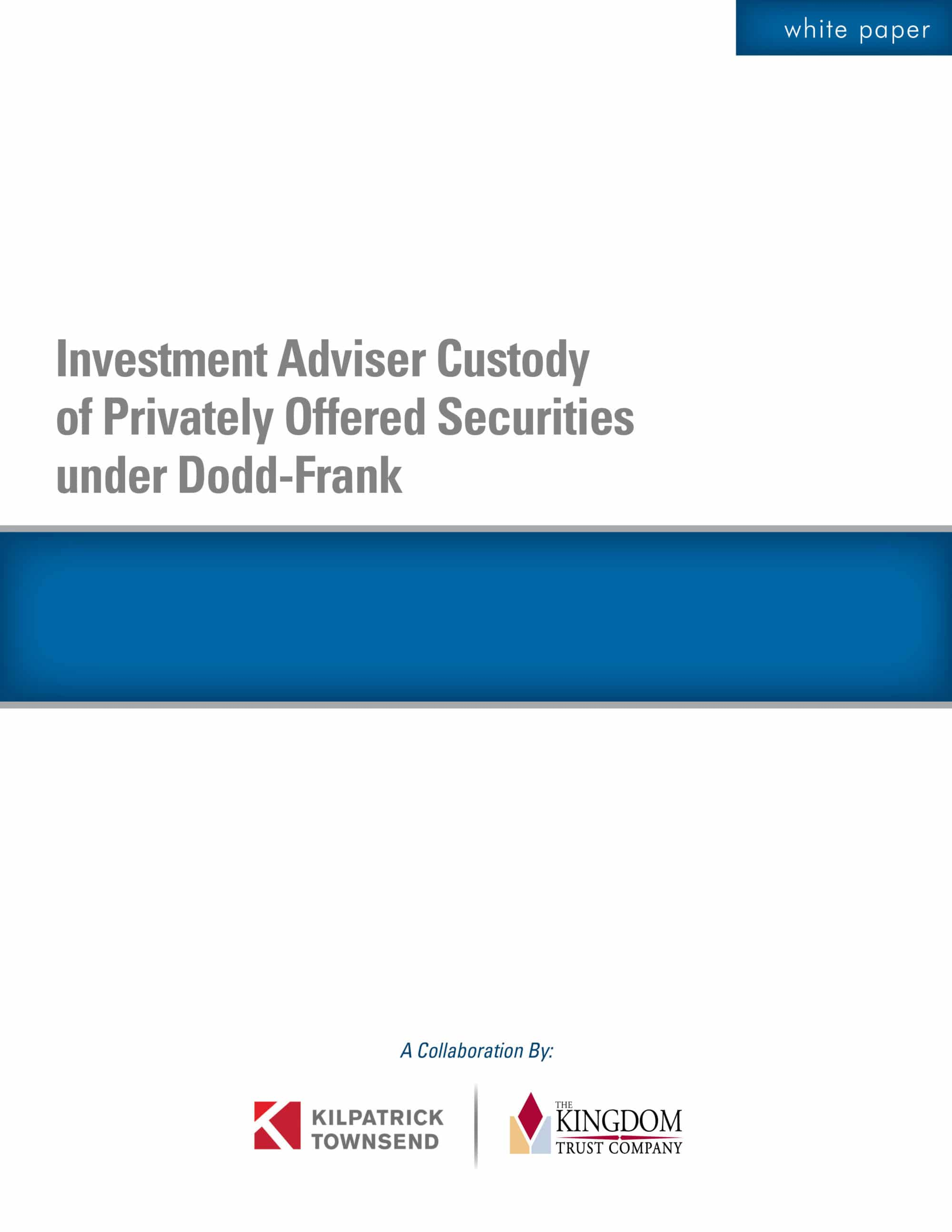 Custody Rule Under Dodd-Frank