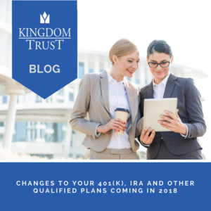 Changes to your 401(k)