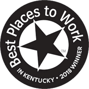 Best place to work in Kentucky - awarded 2018