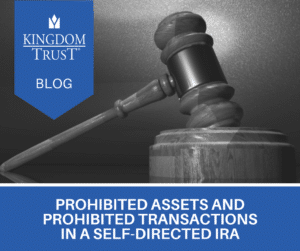 prohibited assets and prohibited transactions