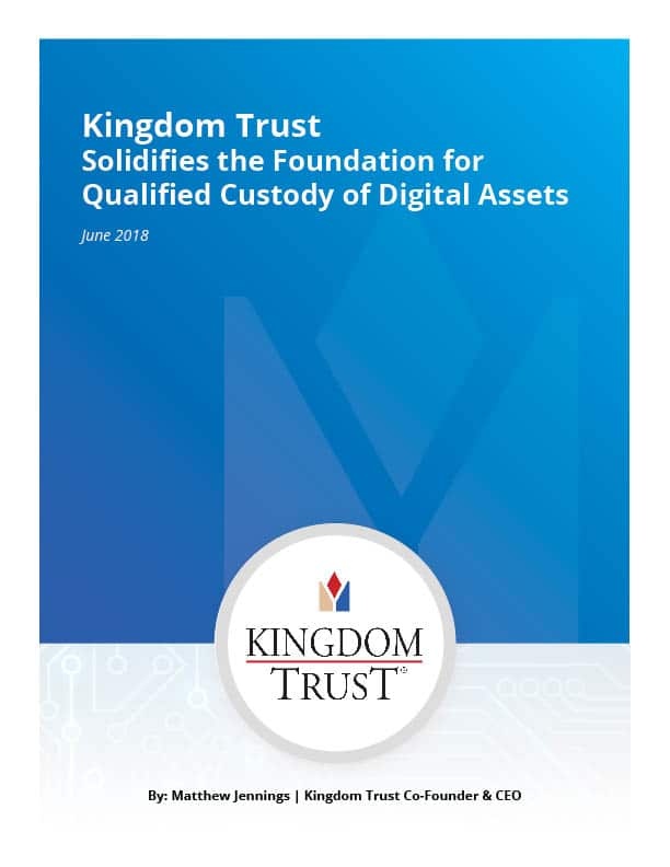 Qualified Custody of Digital Assets